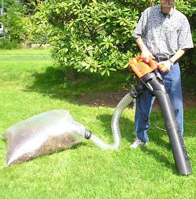 Leaf Bagger For Er Vacuums